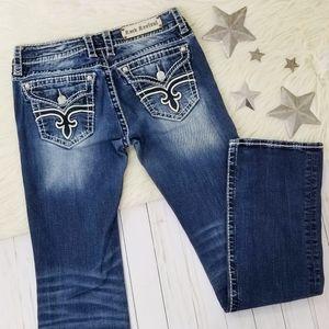Rock Revival Noelle boot cut jeans dark blue 31